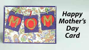 mother u0027s day card easy homemade greeting card for mom youtube