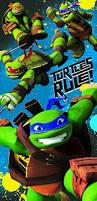 Tmnt Bathroom Set Amazon Com Nickelodeon Teenage Mutant Ninja Turtles U0027turtles Rule