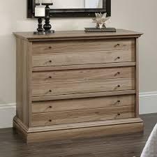 Sauder Bedroom Furniture Amazon Com Sauder Barrister Lane 3 Drawer Chest In Salt Oak