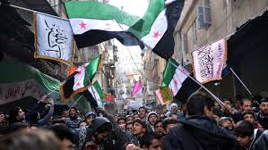 Flag That Is Green White And Red Syrian Rebels Secular And Islamist Both Claim The Future Ncpr News