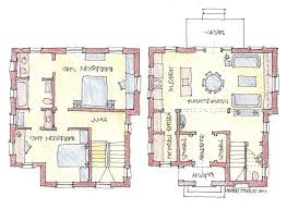 House Plan Multi Family House Plans Duplex Modern Apartment