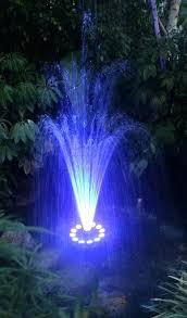 water fountain with lights water fountain with light floating led water fountain water fountain