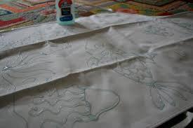 pink and green mama elmer u0027s gel glue batik aprons