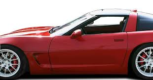 corvette c5 kit duraflex c4 c5 conversion side skirts kit rocker pan for