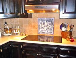 Kitchen Mural Backsplash Captivating Tile Murals Kitchen Trends And Hand Painted Tiles For