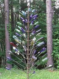 1491 best bottle trees images on pinterest wine bottles wine