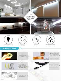 led strip lights linkable amazon com ledjump bright pure white dimmable 300 lights led tape