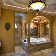 mediterranean style bathrooms brown mediterranean bathroom photos hgtv
