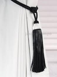 Drapery Tassel Tiebacks How To Tie Curtain Back Tassels Nrtradiant Com