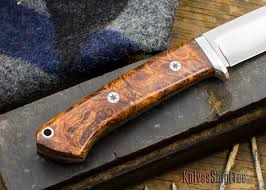 bark river kitchen knives bark river knives bravo 1 5 california buckeye burl
