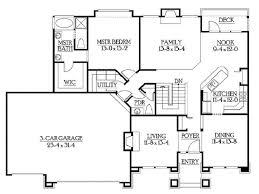 ranch home plans with basements sensational idea 3 popular floor plans ranch home in 60s with