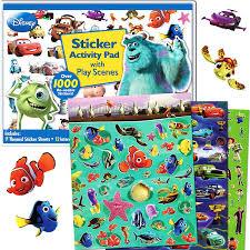 amazon disney pixar ultimate sticker activity pad 1000