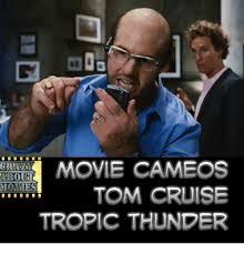 Tropic Thunder Meme - 25 best memes about tom cruise tropic thunder tom cruise