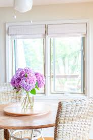 White Bamboo Curtains Bamboo Window Shades Kellie Clements Simply Chic Roller Shades