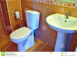 House Plumbing by Modern Hand Basin And Toilet Stock Photo Image 34820040
