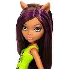Monster High Halloween Wolf Doll by Monster High Cheerleader Clawdeen Wolf Doll Walmart Com