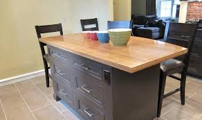 Wood Tops For Kitchen Islands Bamboo Wood Countertop For Kitchen Island Betsy Manning