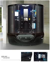 modern shower cabin promotion shop for promotional modern shower spa shower bath cabin steam shower and whirlpool bath black steam room
