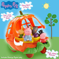 Pumpkin Carriage Amazon Com Peppa Pig Once Upon A Time Pumpkin Carriage Toys U0026 Games