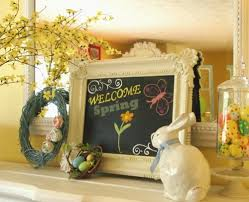 Easter Decorating Ideas For Mantels by Great Decorating Ideas For Fireplace Mantel At Easter U2013 Fresh