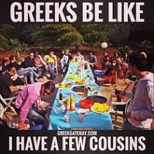 Funny Greek Memes - greek gateway greeks love their big dinners www