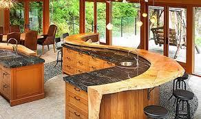 kitchen island with raised bar bar kitchen how to design kitchen black marble countertop at