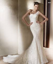 mermaid wedding dresses 2011 mermaid one shoulder chapel lace fashion wedding dress on