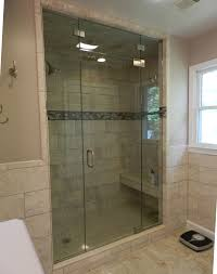 Half Shower Doors Panel Door Panel Shower Door King Shower Door Installations