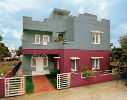 Great Colour Combinations Beautiful Exterior Wall Painting Colour Combinations Ideas Penaime