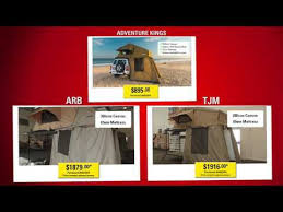 Tjm Awning Price Adventure Kings Roof Top Tent With Annexe Mag Store