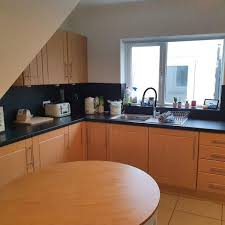 paint kitchen cabinets cost ireland quoted 900 transforms his kitchen during lockdown and