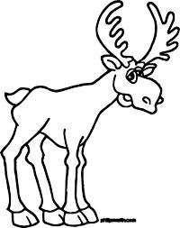 alaska moose coloring page wecoloringpage