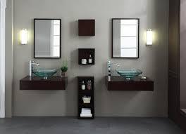 Xylem Vanities Modern Blox 60 Inch Wall Mounted Bathroom Vanity Set