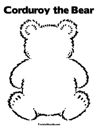 teddy bear coloring pages party game yoyobirthday carys