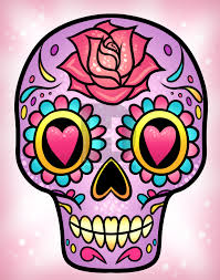 how to draw a sugar skull easy by drawing guide by