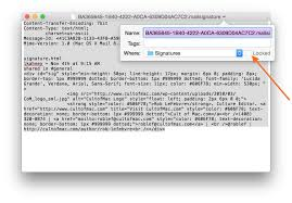 how to create an html signature for apple mail cult of mac