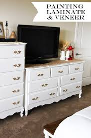 can i use chalk paint on laminate cabinets how to paint laminate and veneer honeybear