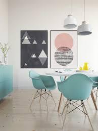 Nordic Design Art Duo Mid Centuty Poster 24x36 Abstract Art Minimalist Art