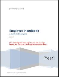 employee handbook template 2017 u2013 hr enterprise
