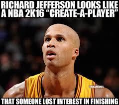 Nba Memes - nba memes on twitter richard jefferson unfinished 2k player