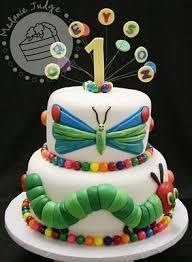 Cake Walk The Very Hungry Caterpillar Cake Birthday Party