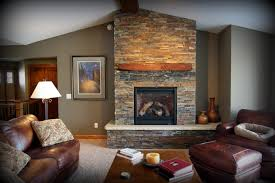 warm home interiors interior wonderful room interior design with gray stone fireplace