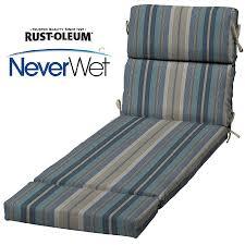 Blue Chaise Lounge Shop Allen Roth Stripe Blue Stripe Blue Stripe Standard Patio