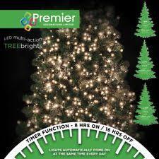 premier 1500 led multi action treebrights christmas tree lights
