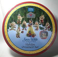 snow white and the seven dwarfs ornament set from our jim