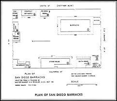 mission san diego de alcala floor plan cabrillo nm the guns of san diego historic resource study