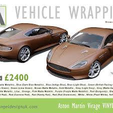 pink aston martin aston martin full wrap kent angel design uk