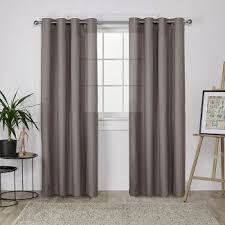 Linen Drapes 108 108 Inch Curtains Target
