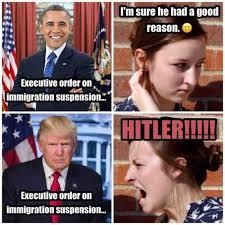 Obama Bill Clinton Meme - montage on illegal immigration by bill clinton harry reid tim