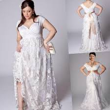 plus size wedding dresses for the beach pluslook eu collection